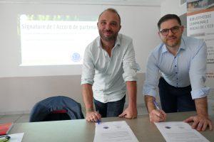 Signature partenariat BTMC-BOIS DE FRANCE
